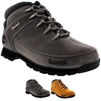Mens Timberland Euro Sprint Hiker Winter Snow Hiking Walking Ankle Boots
