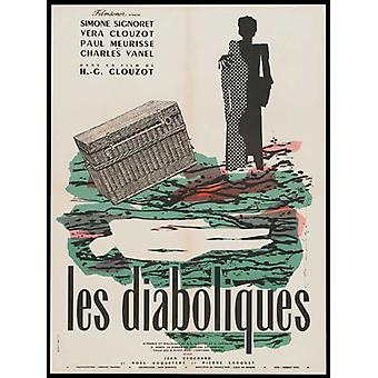 Diabolique Movie Poster (11 x 17)