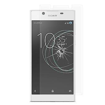 Sony Xperia L1 gehärtetem Glas Displayschutzfolie Retail-Verpackung
