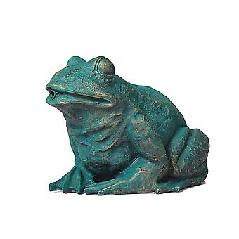 Frog, fountain for the garden 31x24x21 cm