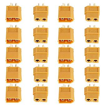 10/20 PCS (5 Pairs/10 pairs) XT60 XT-60 male female Bullet Connectors Plugs for RC Lipo battery Multicopter Quadcopter