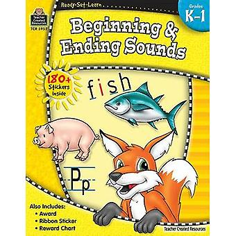 Beginning & Ending Sounds - Grades K-1 by Teacher Created Resources -