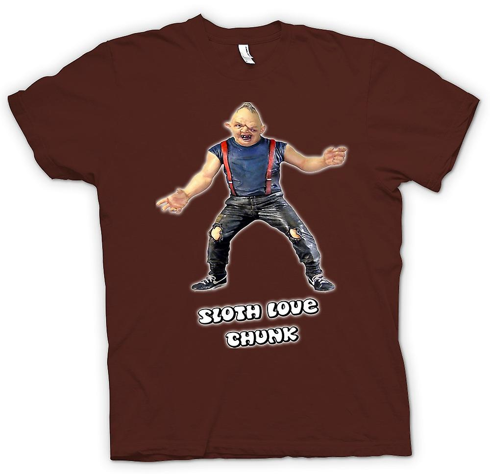 Mens T-shirt - Sloth - Goonies - Love Chunk