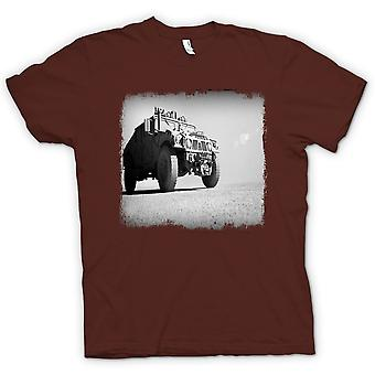 Mens T-shirt - US Army Humvee - Desert Warrior
