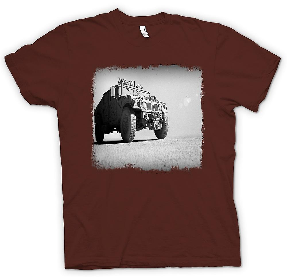 Herr T-shirt - US Army Humvee - Desert Warrior