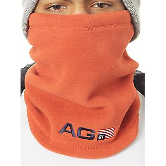 Analog Process Red Fleece Snowboarding Neck Warmer
