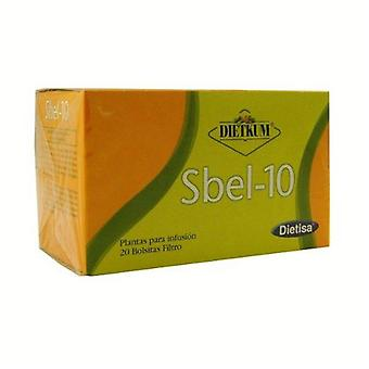 Dietisa Kum Sbel-10 Infusion 20 Units (Kruiden remedies , Infusioni)