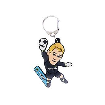 Manchester City Official Licensed football Buddies Football Keyring - Joe Hart