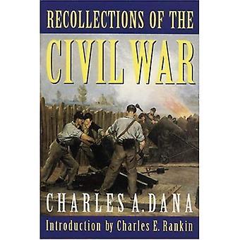 Erindringer af borgerkrigen: med ledere i Washington og i feltet i tresserne