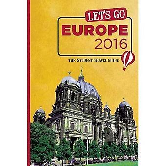 Laten we gaan Europa 2016: De Student Reisgids