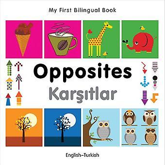 Mon premier livre bilingue - opposés: Anglais-turc