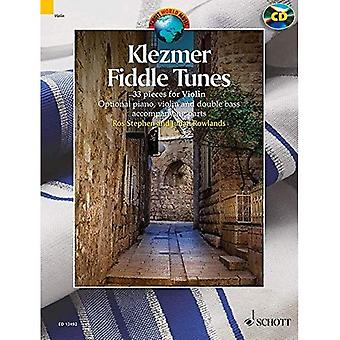 Klezmer Fiddle Tunes: 33 pieces for Violin (Book & CD) (Schott World Music)