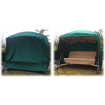 Green Summer Cover Rimini Garden Swing Seat