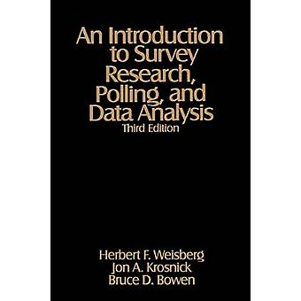 Une Introduction à l'enquête du scrutin recherche et analyse des données par Weisberg & Herbert F.
