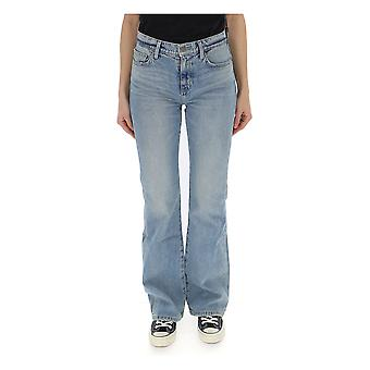 Current Elliott Light Blue Denim Jeans
