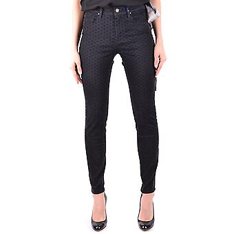 Jacob Cohen Black Cotton Jeans
