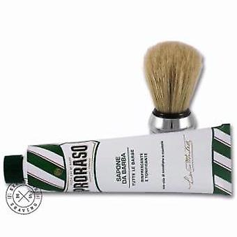 Proraso Shaving Cream And Brush Set