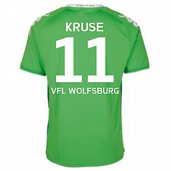 2015-16 Wolfsburg Away Shirt (Kruse 11)