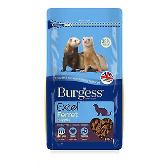 Burgess Excel Ferret Nugget Food