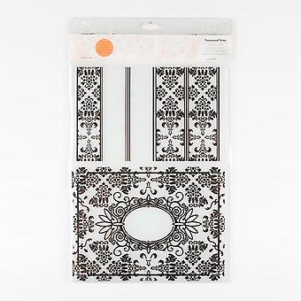 Tonic Studios A4 Embossing Folder Treasured Tome