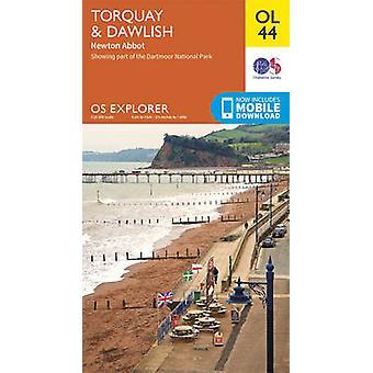 Torquay & Dawlish-Newton Abbot (mei 2015 ED) door Ordnance Survey-9