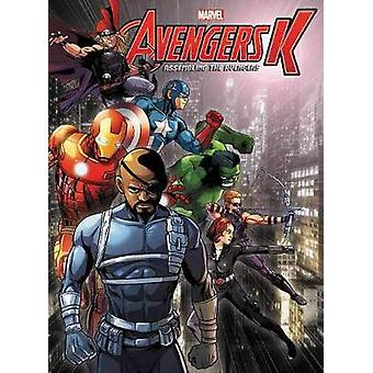 Avengers K Book 5 - Assembling The Avengers by Park Si-Yeon - Jim Eun
