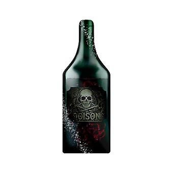 Grindstore What es Your Poison Bottle Shaped Glass Chopping Board
