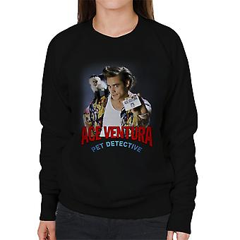 Ace Ventura Pet Detective Monkey And ID Card Women es Sweatshirt