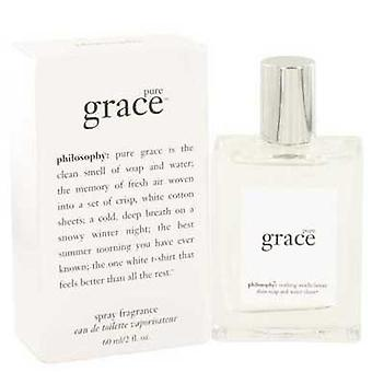 Pure Grace By Philosophy Eau De Toilette Spray 2 Oz (women) V728-502628