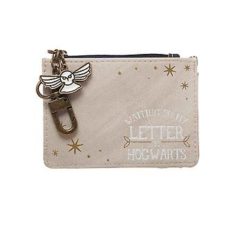 Harry Potter Coin Pouch Hedwig waiting for my letter to Hogwarts new Official