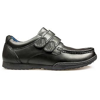 POD Boys Paladin School Shoes Black