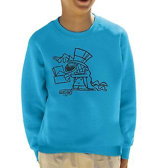 Grimmy Magician Kid's Sweatshirt