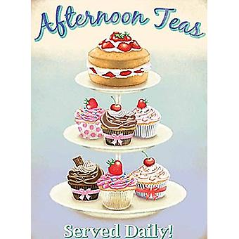 Afternoon Teas fridge magnet  (og)