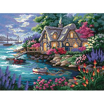 Cottage Cove Needlepoint Kit 16