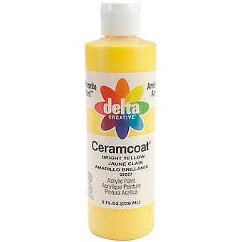 Ceramcoat Acrylic Paint 8 Unzen hellgelb Transparent 2800 2027
