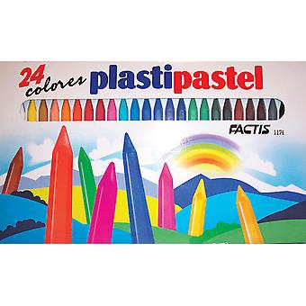 Factis Plastipastel Set 24 Set General Pencil Gp1174 Gp1174