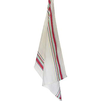 Cream Towel Multi Stripe Nostalgic Towel 20