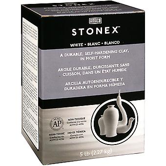 Stonex Self Hardening Clay 5 Pounds White 47338C