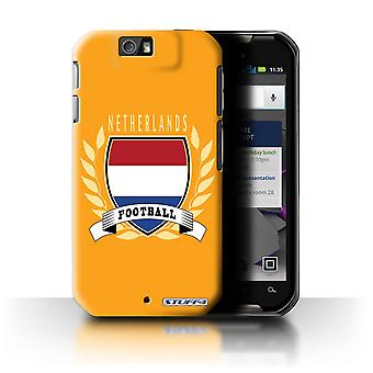 STUFF4 Case/Cover for Motorola IronRock/XT626/Netherlands/Dutch/Football Emblem