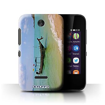 STUFF4 Case/Cover for Nokia Asha 230/Boat/Coast/Thailand Scenery