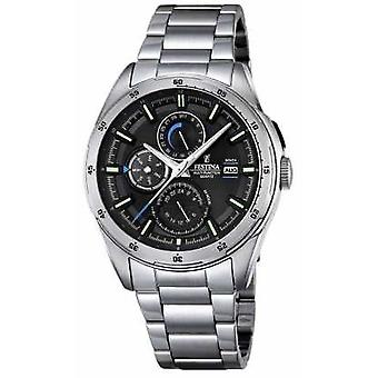 Festina Mens Stainless Steel Multifunction Dial F16876/4 Watch