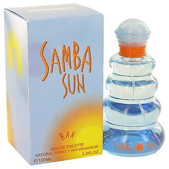 Samba Sun Cologne By Perfumers Workshop Edt Spray 100ml