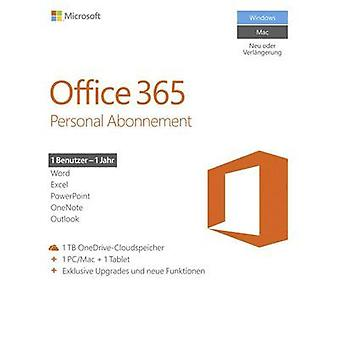 Microsoft Office 365 Personal Full version, 1 license Windows, Mac OS, Android, iOS Office package