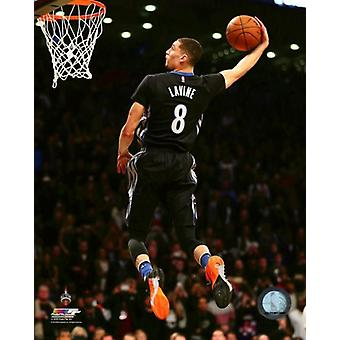Zach Lavine Slam Dunk Contest 2016 NBA All-Star Game Photo Print