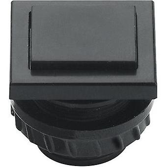 Bell button 1x Grothe 61045 Black 24 V/1,5 A