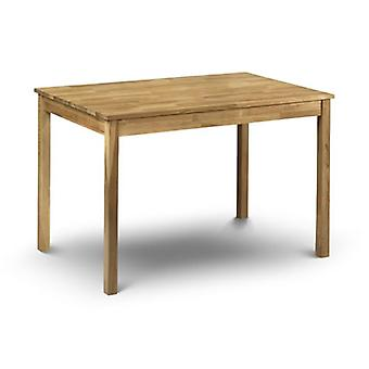 Cox Solid Oak Rectangle Dining Kitchen Table