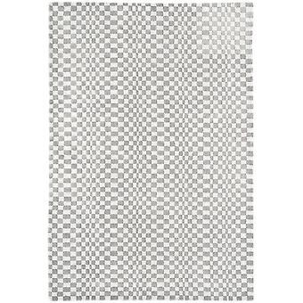 Riga Charcoal Wool & Viscose Modern Rug