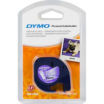 DYMO LetraTAG tapes, transparent, 12 mm, 4 m (16951)