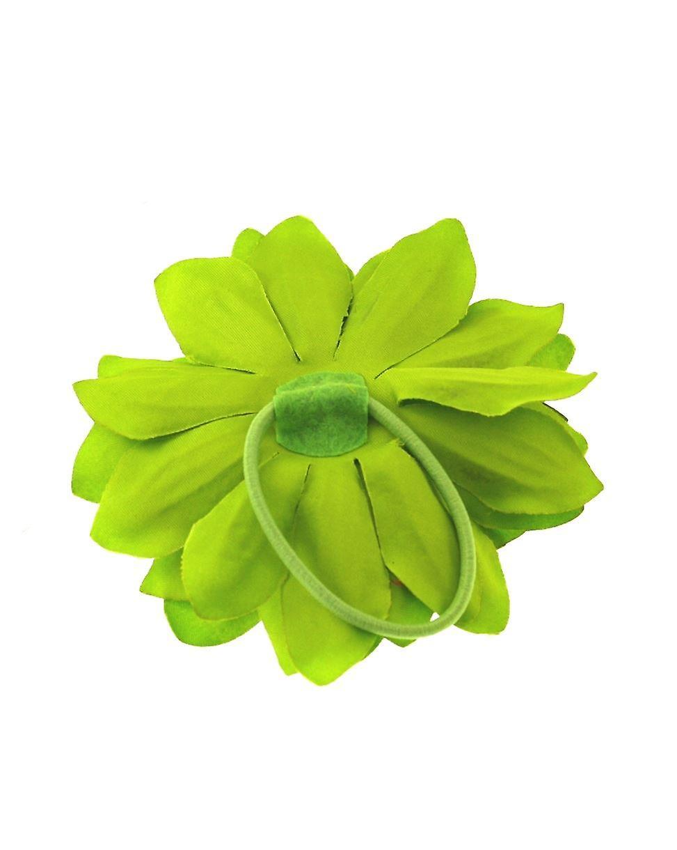 Calce del Crisantemo verde capelli Bobble
