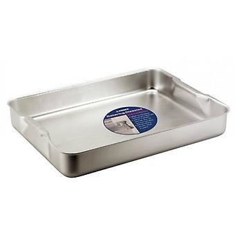 6.1 liter bakning rostning maträtt bricka Aluminium Bakeware med handtag